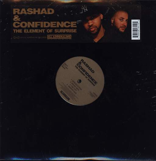 Rashad: The Element Of Surprise, LP (Vinyl)