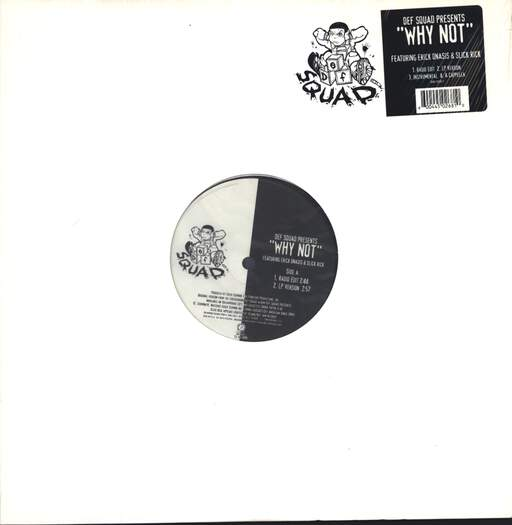 "Def Squad: Why Not, 12"" Maxi Single (Vinyl)"