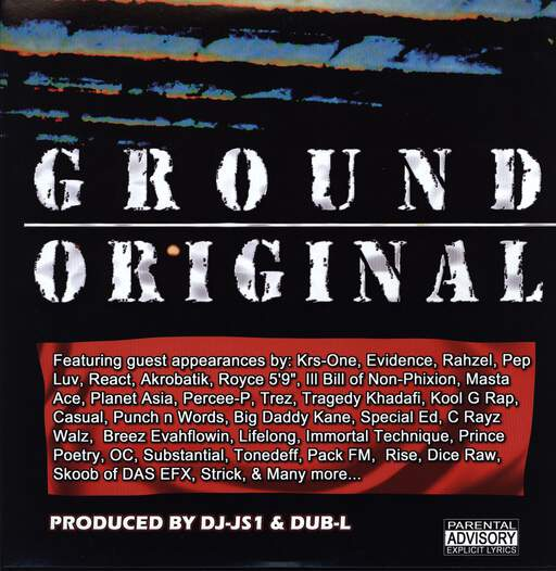 DJ JS-1: Ground Original, LP (Vinyl)