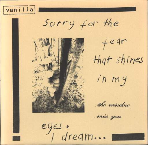 "Vanilla: I Can't Stop Hating This Empty Space, 7"" Single (Vinyl)"