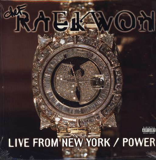 "Raekwon: Live From New York / Power, 12"" Maxi Single (Vinyl)"