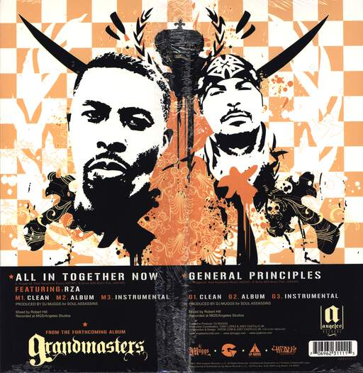 "DJ Muggs: All In Together Now, 12"" Maxi Single (Vinyl)"