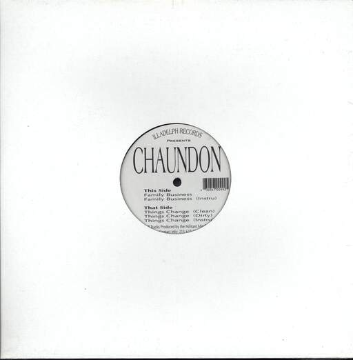 "Chaundon: Family Business, 12"" Maxi Single (Vinyl)"