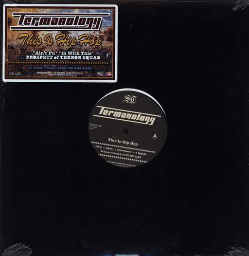 "Termanology: This Is Hip Hop, 12"" Maxi Single (Vinyl)"