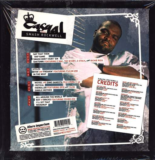 Casual: Smash Rockwell, LP (Vinyl)