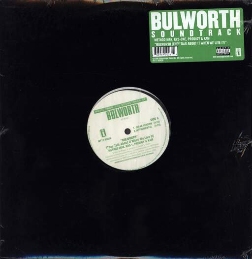 "Method Man: Bulworth (They Talk About It When We Live It), 12"" Maxi Single (Vinyl)"
