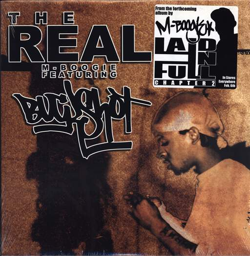 "M-Boogie: The Real, 12"" Maxi Single (Vinyl)"