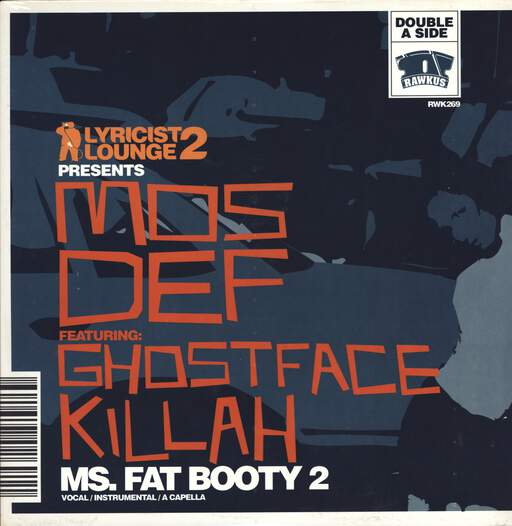 "Mos Def: Ms. Fat Booty 2 / The Grimy Way, 12"" Maxi Single (Vinyl)"