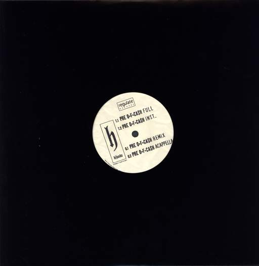 "DJ Honda: Pre Of Cash, 12"" Maxi Single (Vinyl)"