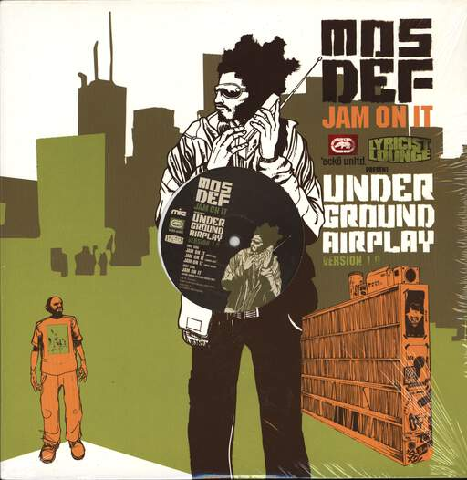 "Mos Def: Jam On It, 12"" Maxi Single (Vinyl)"