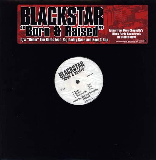 "Black Star: Born & Raised / Boom, 12"" Maxi Single (Vinyl)"