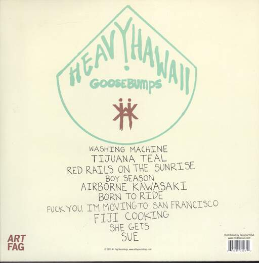 Heavy Hawaii: Goosebumps, LP (Vinyl)