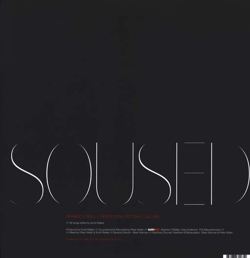Scott Walker: Soused, LP (Vinyl)