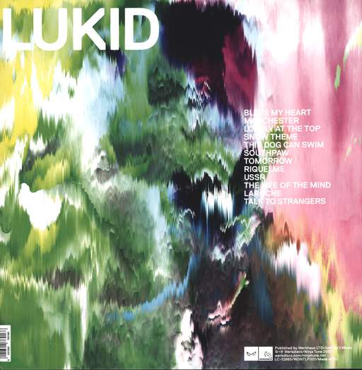 "Lukid: Lonely At The Top, 12"" Maxi Single (Vinyl)"