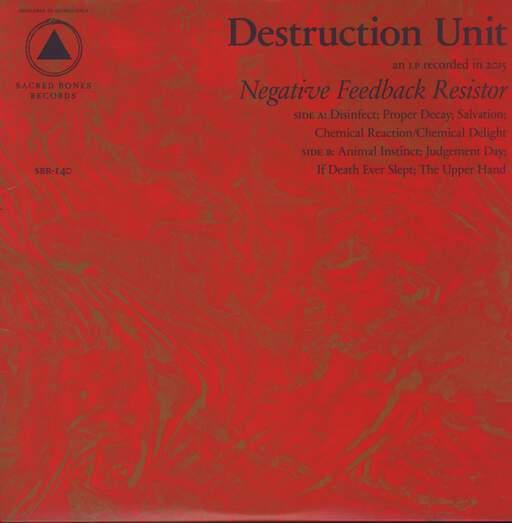 Destruction Unit: Negative Feedback Resistor, LP (Vinyl)