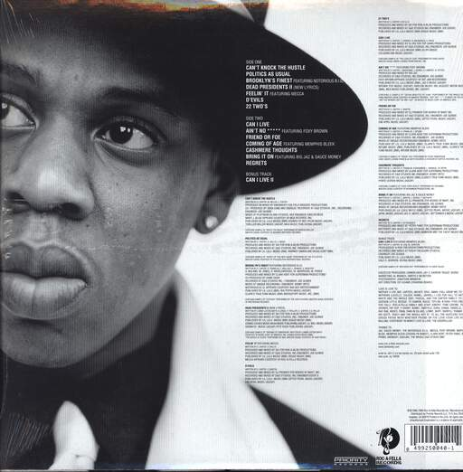 Jay-Z: Reasonable Doubt, LP (Vinyl)