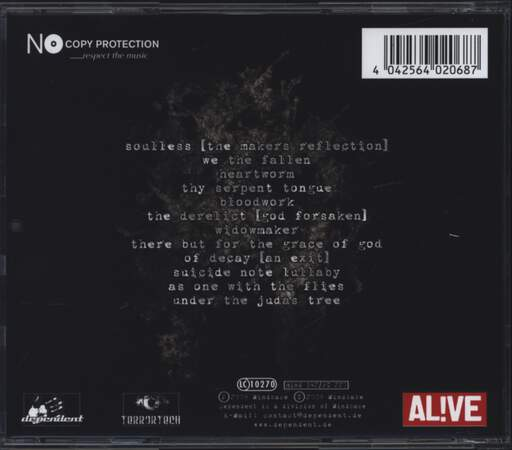 Psyclon Nine: We The Fallen, CD