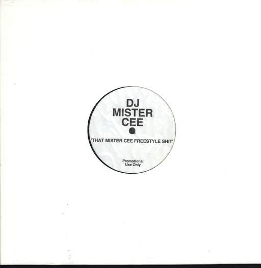 "Mister Cee: That Mister Cee Freestyle Shit, 12"" Maxi Single (Vinyl)"