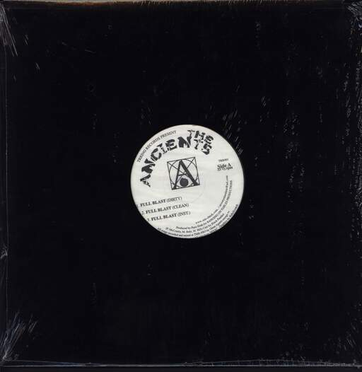 "The Ancients: Full Blast, 12"" Maxi Single (Vinyl)"