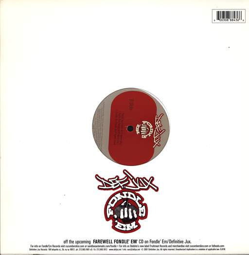 "Various: Fondle 'Em Fossils, 12"" Maxi Single (Vinyl)"