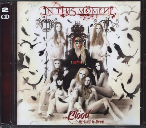 In This Moment: Blood - Re-Issue & Bonus, CD