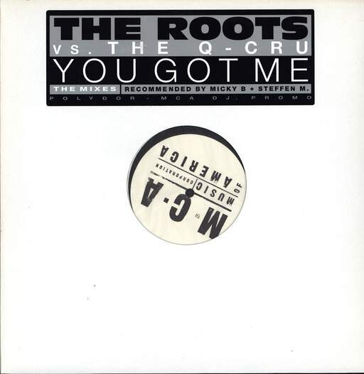 "The Roots: You Got Me (The Mixes), 12"" Maxi Single (Vinyl)"
