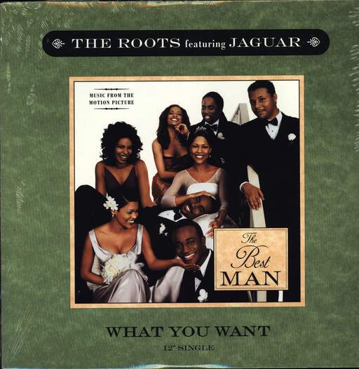 "The Roots: What You Want, 12"" Maxi Single (Vinyl)"