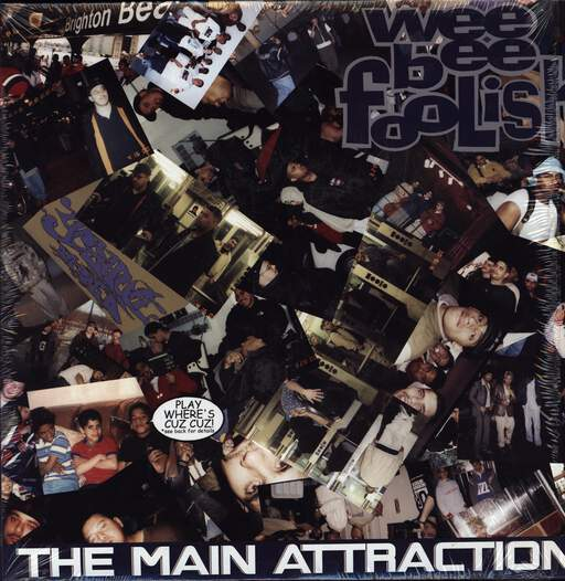 "Wee Bee Foolish: The Main Attraction, 12"" Maxi Single (Vinyl)"