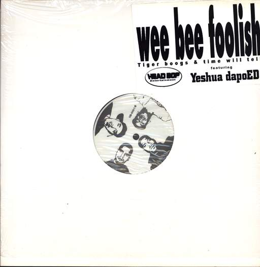 "Wee Bee Foolish: Tiger Boogs / Time Will Tell, 12"" Maxi Single (Vinyl)"