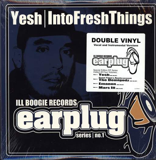 "Yeshua daPoED: Into Fresh Things, 12"" Maxi Single (Vinyl)"