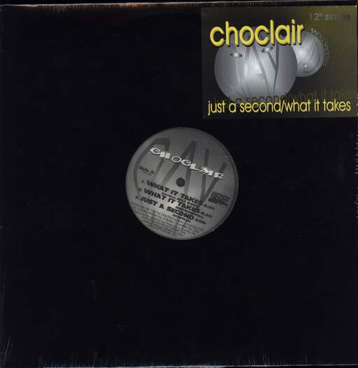 "Choclair: Just A Second / What It Takes, 12"" Maxi Single (Vinyl)"