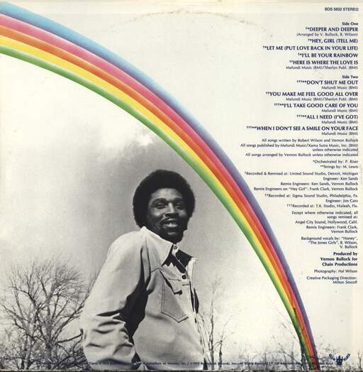 Bobby Wilson: I'll Be Your Rainbow, LP (Vinyl)