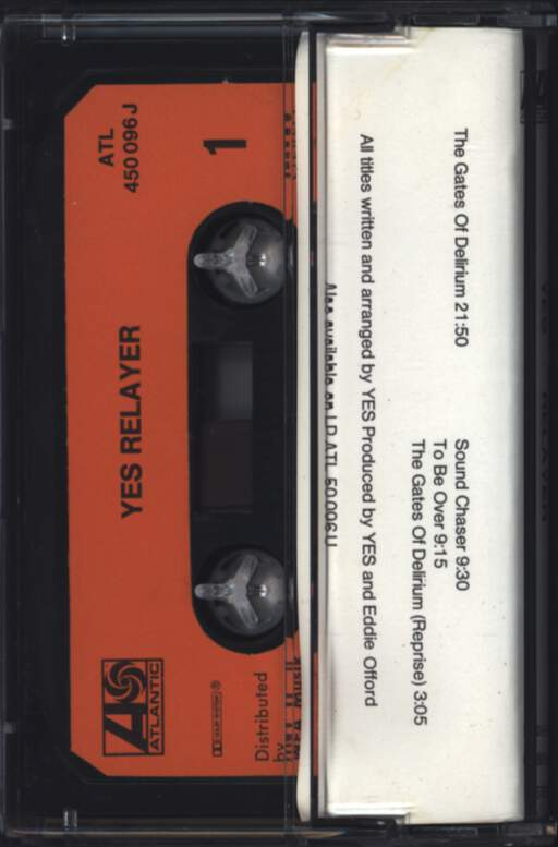 Yes: Relayer, Compact Cassette