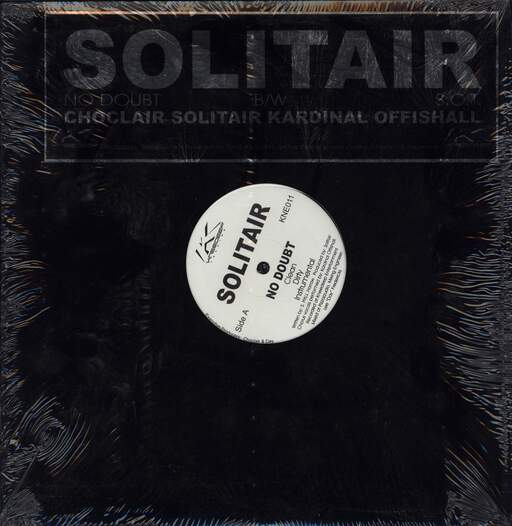 "Solitair: No Doubt / S.O.T., 12"" Maxi Single (Vinyl)"