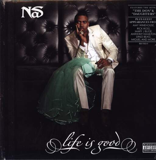 Nas: Life Is Good, LP (Vinyl)