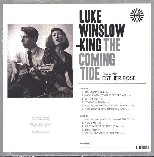 Luke Winslow-King: The Coming Tide, LP (Vinyl)
