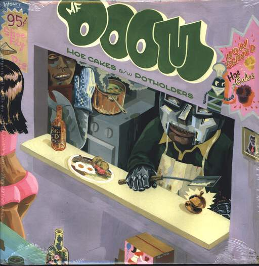 "Mf Doom: Hoe Cakes / Potholders, 12"" Maxi Single (Vinyl)"