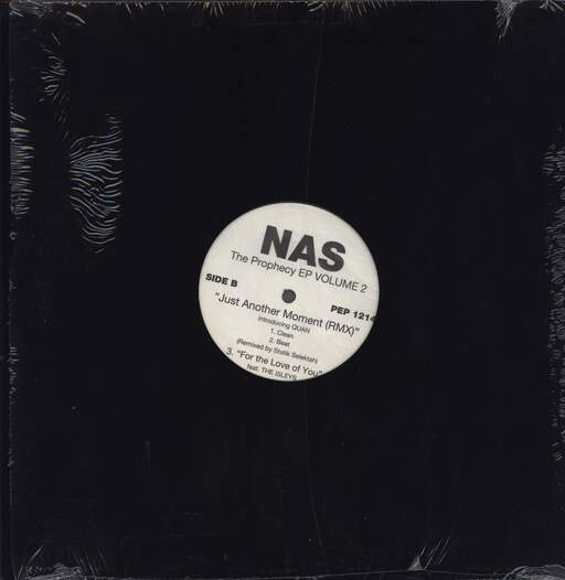 "Nas: The Prophecy EP Volume 2, 12"" Maxi Single (Vinyl)"