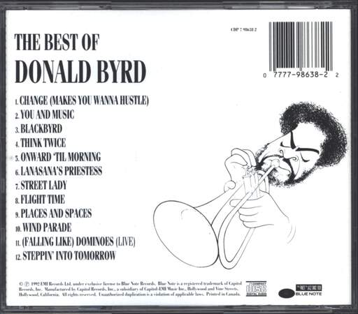 Donald Byrd: The Best Of Donald Byrd, CD