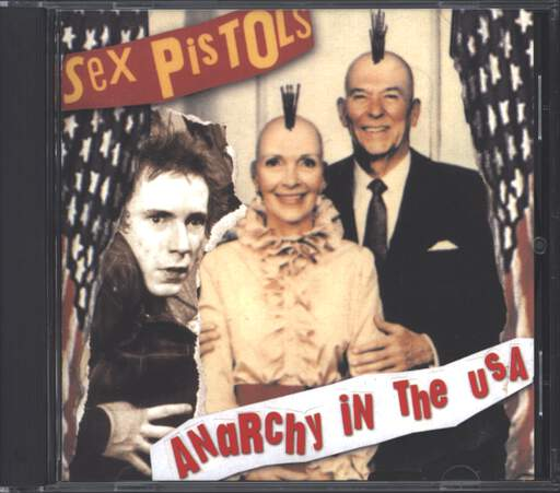 Sex Pistols: Anarchy In The USA, CD