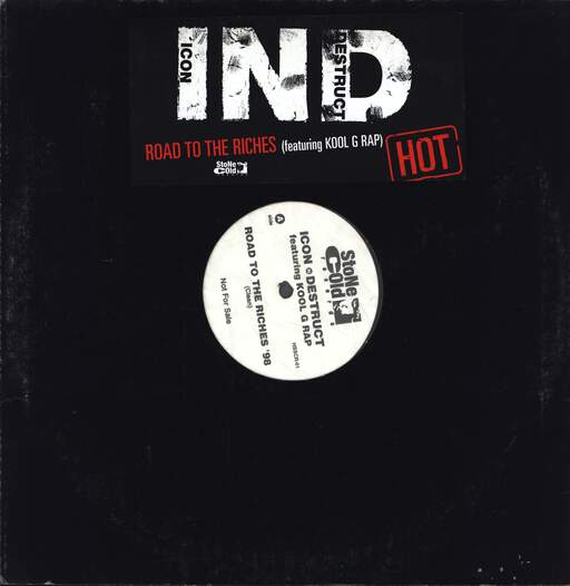 "Icon N Destruct: Road To The Riches '98, 12"" Maxi Single (Vinyl)"