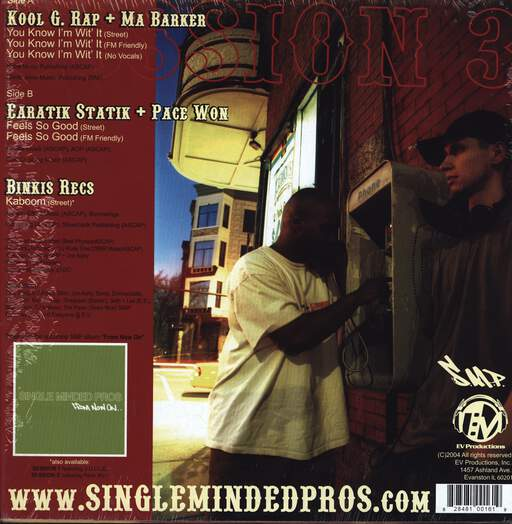 "Single Minded Pros: Session 3, 12"" Maxi Single (Vinyl)"