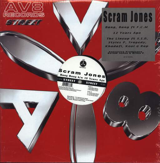"Scram Jones: Bang Bang, 12"" Maxi Single (Vinyl)"
