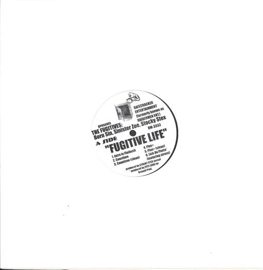 "The Fugitives: Fugitive Life, 12"" Maxi Single (Vinyl)"