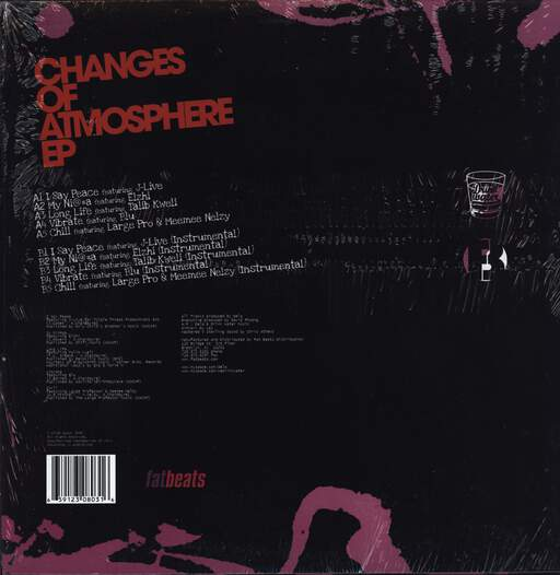 "Dela: Changes Of Atmosphere EP, 12"" Maxi Single (Vinyl)"