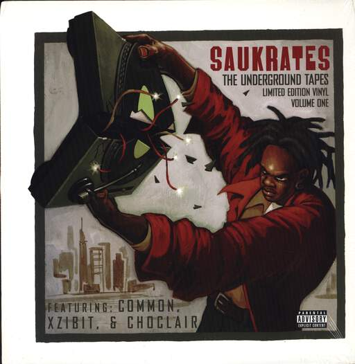 "Saukrates: The Underground Tapes Vol. 1, 12"" Maxi Single (Vinyl)"
