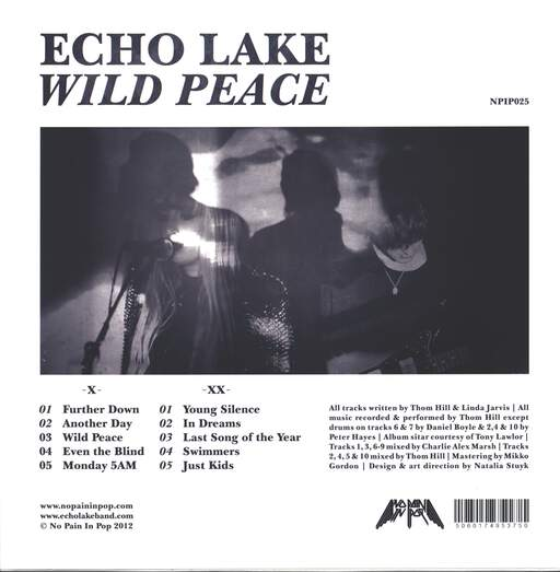 Echo Lake: Wild Peace, LP (Vinyl)