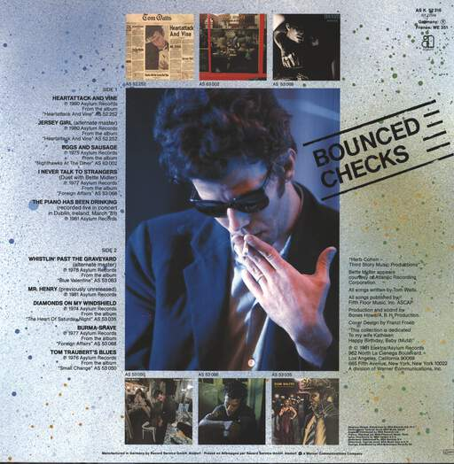 Waits, Tom: Bounced Checks, LP (Vinyl)