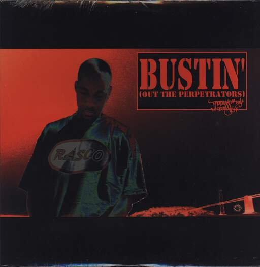 "M-Boogie: Bustin' (Out The Perpetrators), 12"" Maxi Single (Vinyl)"