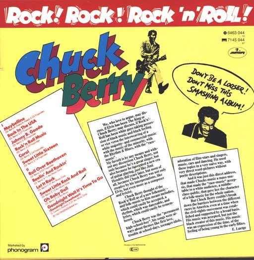 Chuck Berry: Rock! Rock! Rock 'N' Roll, LP (Vinyl)